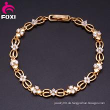 Großhandelsart und weise veränderbare Farben-Stein-Charme-Überzug-Gold Starfish-Armbänder