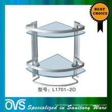 настенные ванная комната стеклянная полка производство Китай:L1701-2Д