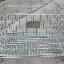 Foldable Galvanized Steel Storage Container
