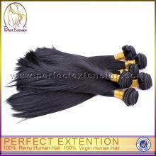 Много Бесплатная доставка 100% долго ткать перуанский человеческих волос