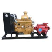 Mehrstufige Feuerlöschpumpe für Dieselmotoren