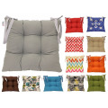 Colourful Seat Pad Dining Room Garden Kitchen Chair Cushion Tie