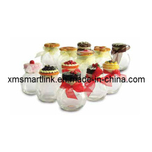 Cookie Decor Glass Jar (volume 200ml)