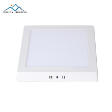 High brightness 6w Warm White aluminum rechargeable emergency led panel light