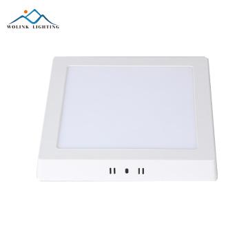 High brightness 6w Warm White aluminum rechargeable emergency led panel light