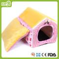 Casa de cão encantador tecido de algodão (HN-pH567)