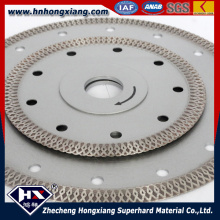 Cyclone Mesh Turbo Diamond Blade for Granite, Sandstone and Concrete Cutting