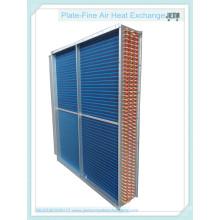 Radiador de tubo de aleta azul de tubo de cobre como evaporador (STTL-4-12-1000)
