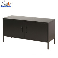 New design corner cabinet steel tv table