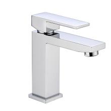 Misturador de latão polido de alavanca única de louças sanitárias série de lavagem de mão de luxo torneira de bacia original torneira de cachoeira de água do banheiro