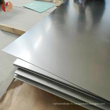 Feuille de zirconium d'épaisseur de 1mm en métal avec un prix fin