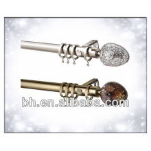 28mm Metal Curtain Pole Sets - Espejo Ball, Alexia Bronce Espejo Completo Metal Pole Set
