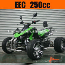 Bici de Quads de 250cc EEC Atv que compite con transportín trasero