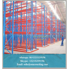 Q235B Steel VNA Pallet Racking With Powder Coated Or Galvanized Surface Treatment