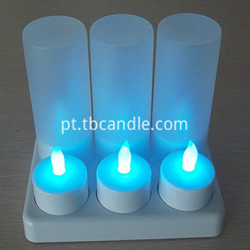 Votive Rechargeable LED Tealight Candle