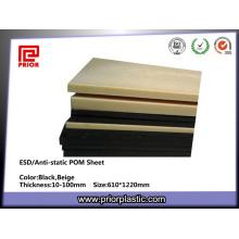 POM ESD Plastic Sheet From Prior Plastic