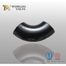 Codo de acero al carbono de acero inoxidable (WDS)