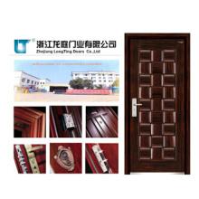 Nueva puerta de madera de placa de armadura de diseño más nuevo