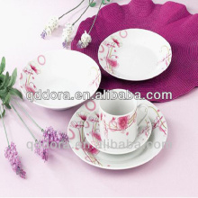 daily use of porcelain ,corelle dinnerware white set,30pcs fine porcelain dinnerware set/ceramic dinner