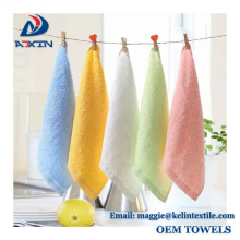 Super soft 100% bamboo baby towel/bamboo infant saliva towels/ baby washcloth with high quality