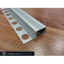 Guarnição da borda da escada de alumínio com a cor revestida pó