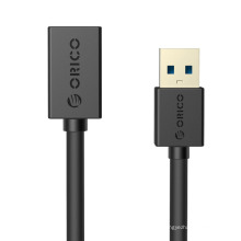 ORICO CER3-15 USB3.0 AM a AF 5 Ft / 1.5M Cable USB redondo Super Velocidad