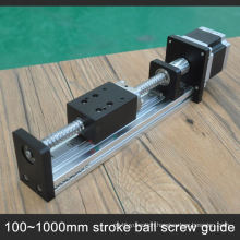 Low Noise 500Mm Travel Cnc Linear Guide Rail From Factory