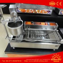 Máquina de fabricación de donuts de acero inoxidable Máquina de mini donuts