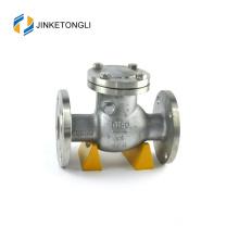 JKTLPC045 rubber carbon steel non return disc type check valve