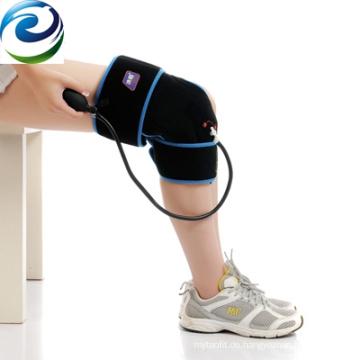 Rehabilitationsprodukte Athleten verwenden Nylon-Material Kompressionskompresse Knieorthese