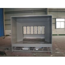 Semprotan powder coating booth