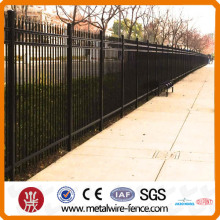 2014 high quality & electric galvanized steel fence from CHINA
