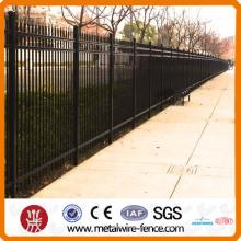 2014 высококачественный и электрический оцинкованный стальной забор из Китая