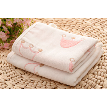 Newborn Baby Girl Toalha e Washcloths Gift Set