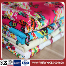 Print Cotton Fabric in The Composition of Polyester