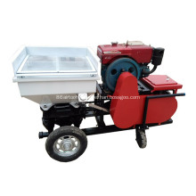 Hydraulic Diesel engine mortar spraying sprayer machine