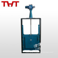 dn100/dn150 cast iron bs5163 sluice gate valve