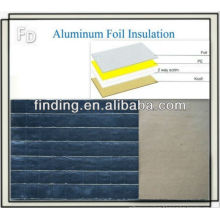 Foil backed isolation Conseil toiture mur lambris isolation
