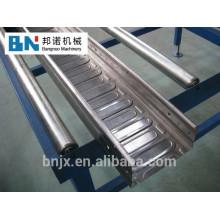 Machine de formage de rouleaux de panneaux de plancher en métal