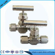 Válvula de pressão de aço inoxidável de alta pressão