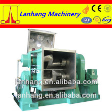 rubber kneader machine with high-viscosity material
