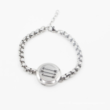 Latest Design Hot Sale 316L Stainless Steel Oil Diffuser Locket Bracelet
