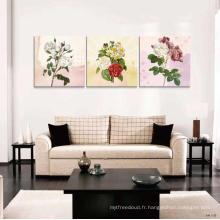 Hot Item Prefabricated Maison Fleur Peinture