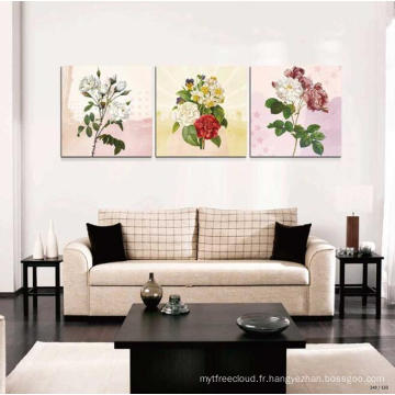 Hot Item Prefabricated Maison Fleur Peinture