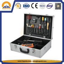 Boîte à outils en aluminium dur verrouillable portative de prix le plus bas usine