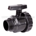 PVC VALVES-SINGLE UNION BALL VALVE (MALE&FEMALE THREAD)