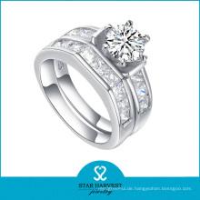 Großhandel 925 Sterling Silber Schmuck Hochzeit Ring (R-0132)