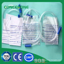 Push-Pull Valve Male Urine Collection Bag