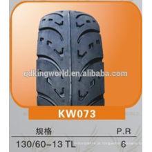 pneu sem câmara de ar de 130/60-13