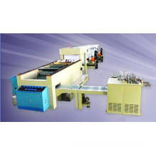 A4 size sheeting and wrapping machine